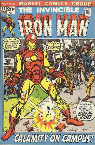 Iron Man (1968) 45-A by Marvel