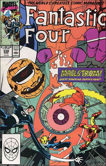 Fantastic Four (1961) 338-A by Marvel
