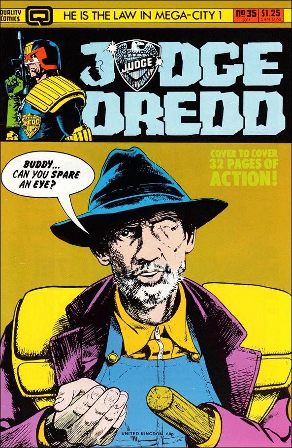 Judge Dredd (1983) 35-A by Eagle Comics