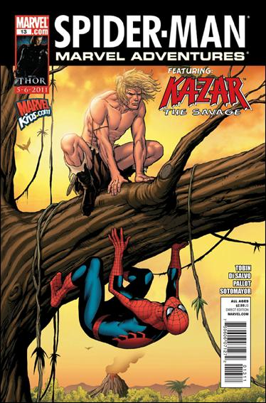 Marvel Adventures Spider-Man (2010) 13-A by Marvel