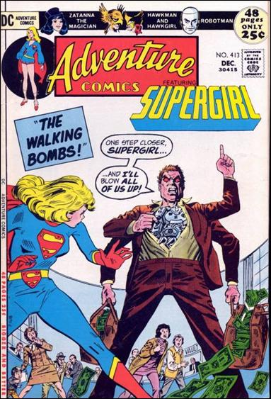 Adventure Comics (1938) 413-A by DC