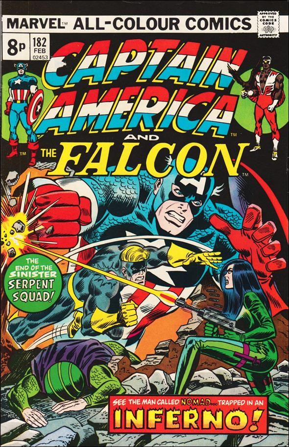 Captain America (1968) 182-B by Marvel