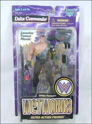 WetWorks (Series 2) Delta Commander (Flesh)