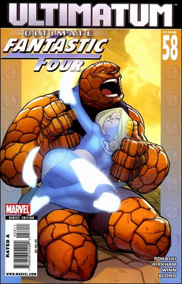 Ultimate Fantastic Four 58-A by Marvel