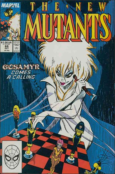 New Mutants (1983) 68-A by Marvel