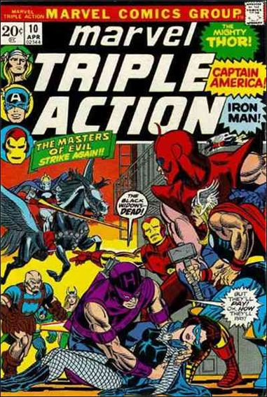 Marvel Triple Action (1972) 10-A by Marvel