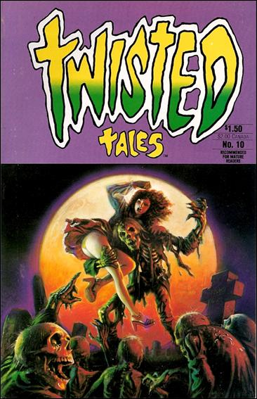 Twisted Tales (1982) 10-A by Pacific