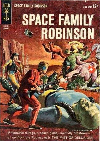 Space Family Robinson 5-A by Gold Key