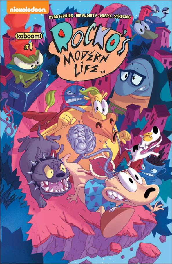 Rocko's Modern Life 1-A by Kaboom!