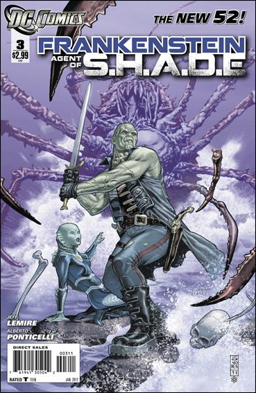 Frankenstein, Agent of S.H.A.D.E. 3-A by DC