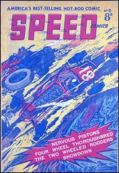 Speed Comics (Australia) 6-A by Transport Publishing