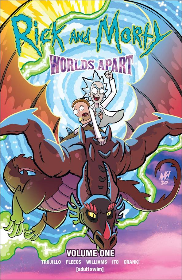 Rick and Morty: Worlds Apart 1-A by Oni Press