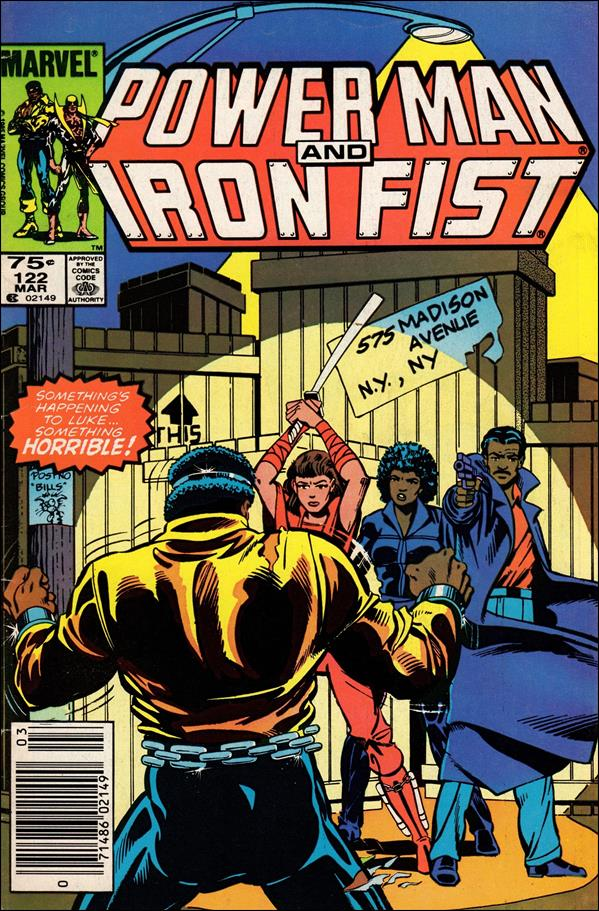 Power Man and Iron Fist (1978) 122-A by Marvel