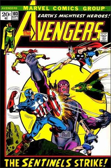 Avengers (1963) 103-A by Marvel