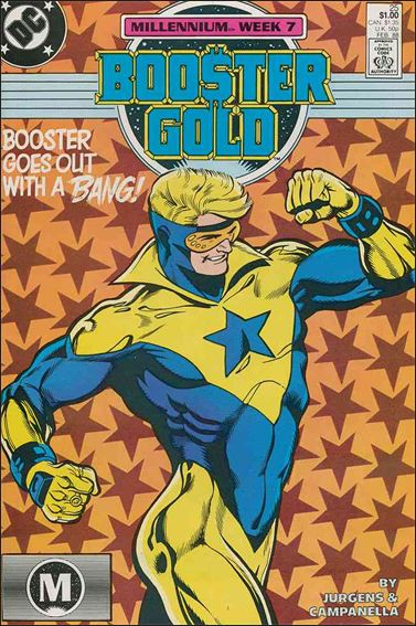 Booster Gold (1986) 25-A by DC