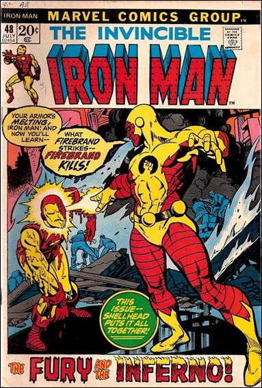 Iron Man (1968) 48-A by Marvel
