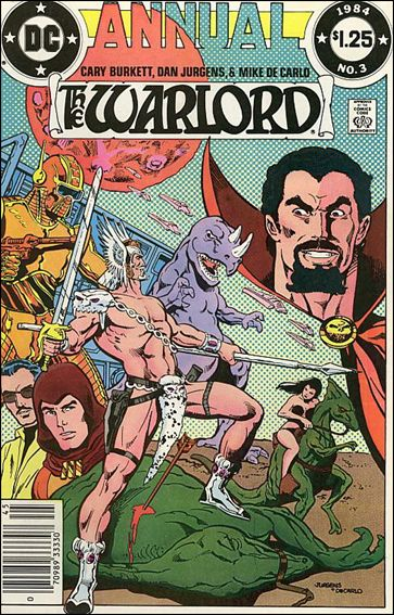Warlord Annual 3-A by DC