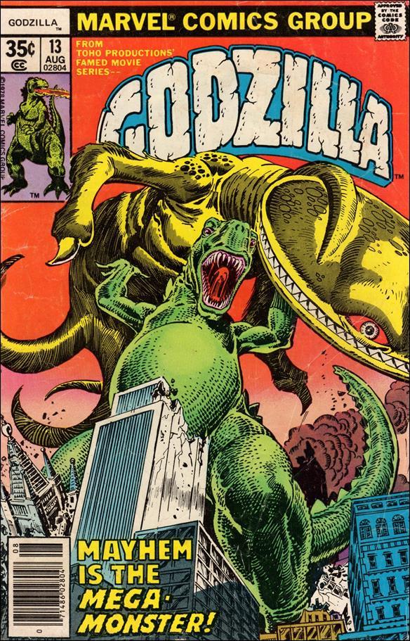 Godzilla (1977) 13-A by Marvel