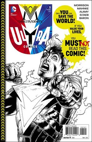 Multiversity: Ultra Comics 1-B