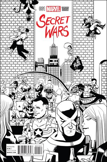 Secret Wars 1-K by Marvel