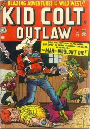 Kid Colt Outlaw  23-A