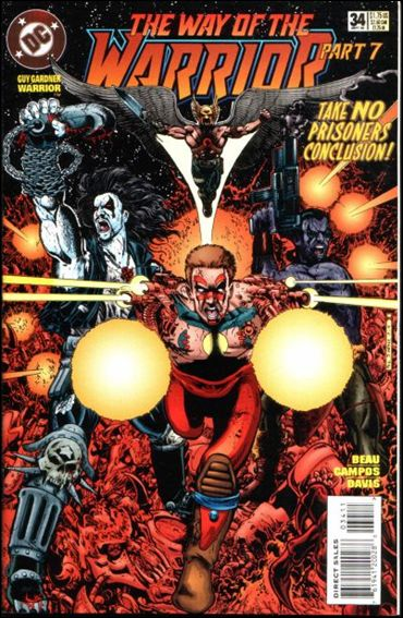 Guy Gardner: Warrior 34-A by DC