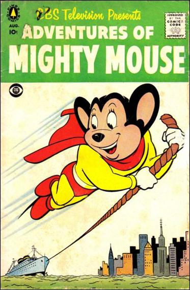 Adventures of Mighty Mouse (1956) nn 2-A by Pines