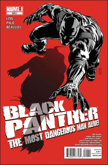 Black Panther: The Most Dangerous Man Alive  523.1-A by Marvel