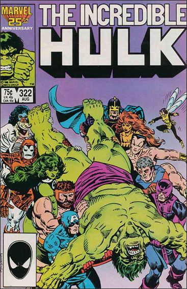 Incredible Hulk (1968) 322-A by Marvel