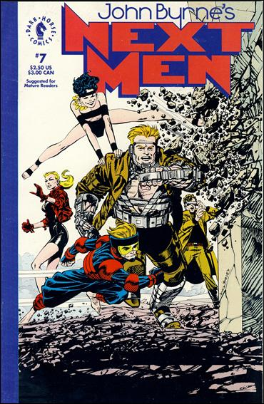 John Byrne's Next Men (1992) 7-A by Dark Horse