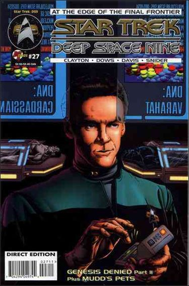 Star Trek: Deep Space Nine (1993) 27-A by Malibu