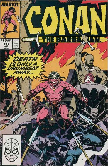 Conan the Barbarian (1970) 221-A by Marvel