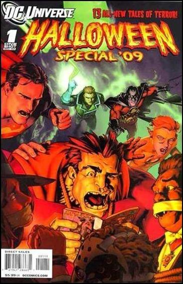 DCU Halloween Special '09 1-A by DC