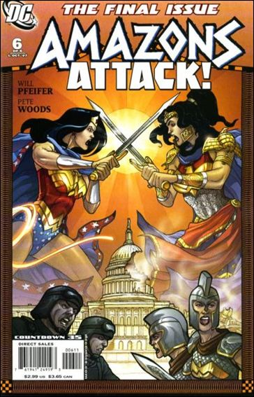 Amazons Attack 6-A by DC