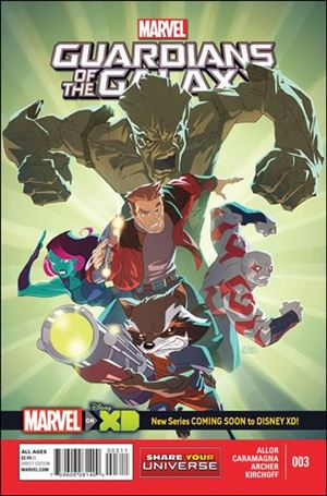 Marvel Universe: Guardians of the Galaxy 3-A