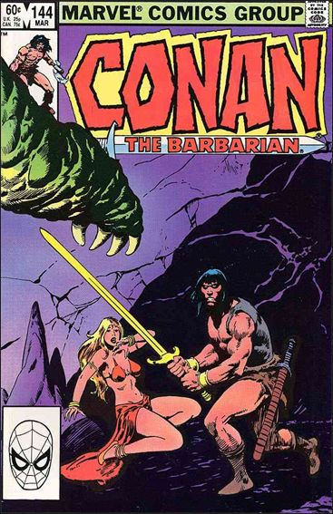 Conan the Barbarian (1970) 144-A by Marvel