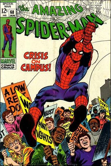 Amazing Spider-Man (1963) 68-A by Marvel