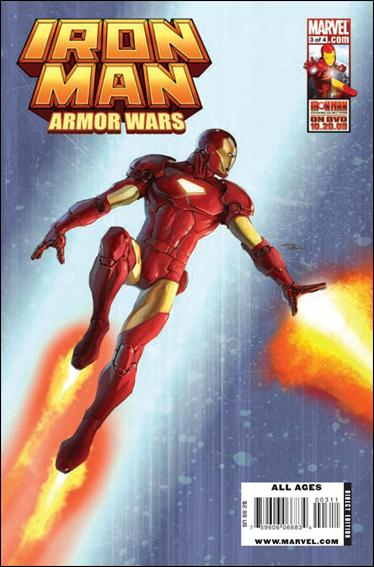 Iron Man and the Armor Wars 3-A by Marvel
