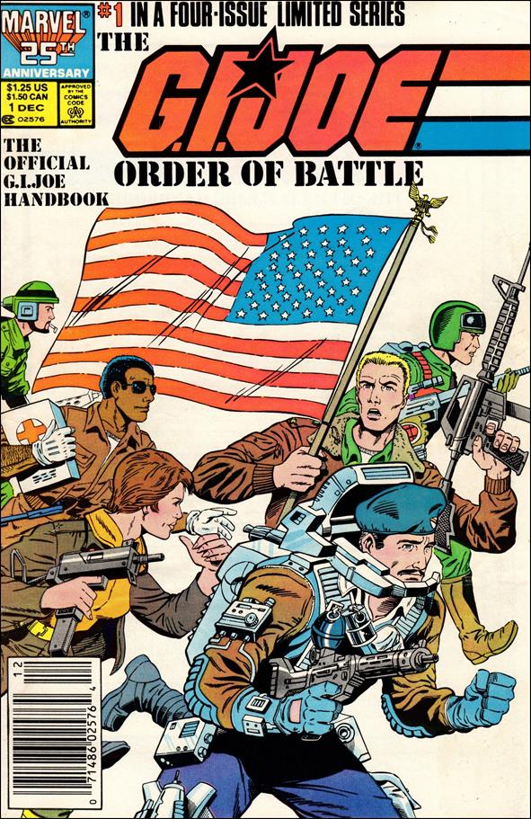 G.I. Joe: Order of Battle 1-A by Marvel