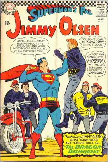 Superman's Pal Jimmy Olsen 91-A by DC