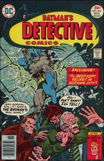Detective Comics (1937) 465-A by DC