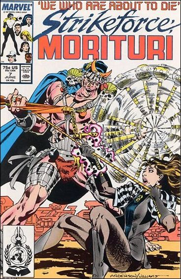 Strikeforce: Morituri 7-A by Marvel