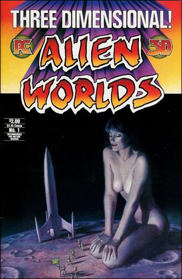 Three Dimensional Alien Worlds  1-A by Pacific Comics