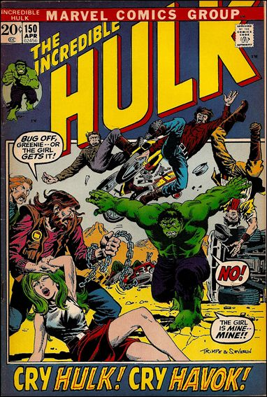 Incredible Hulk (1968) 150-A by Marvel