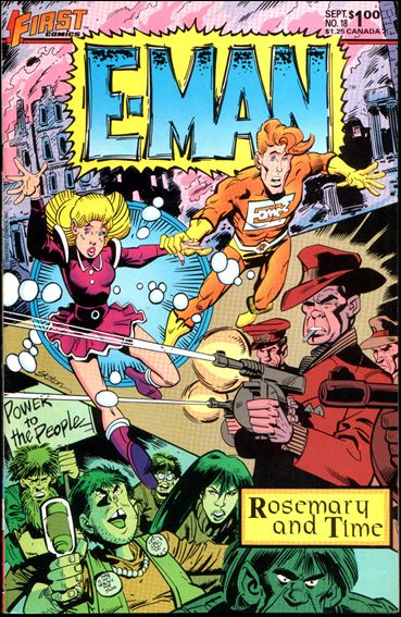 E-Man (1983) 18-A by First