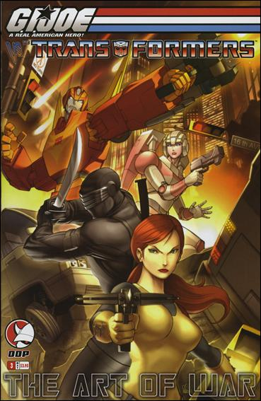 G.I. Joe vs the Transformers: The Art of War 3-B by Devil's Due