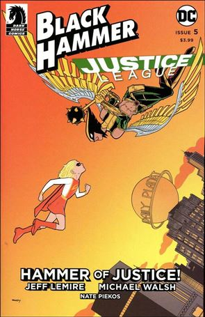 Black Hammer/Justice League: Hammer of Justice! 5-D