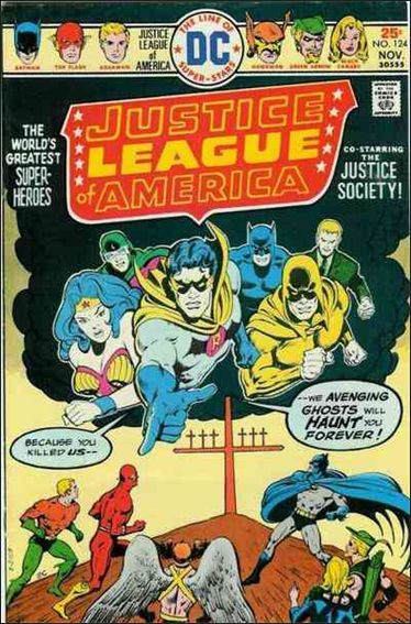 Justice League of America (1960) 124-A by DC