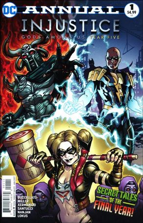 Injustice: Gods Among Us: Year Five Annual 1-A