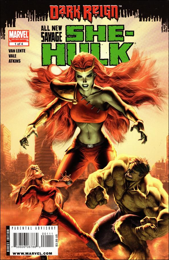 All-New Savage She-Hulk  1-A by Marvel